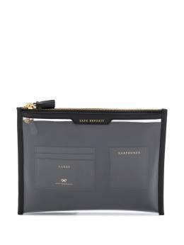 Anya Hindmarch клатч на молнии AW200266152914