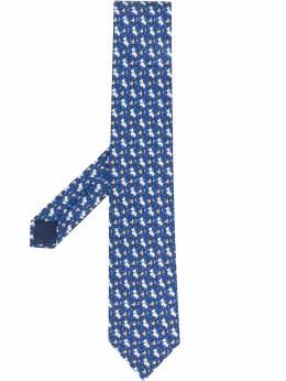 Salvatore Ferragamo галстук с принтом 737873