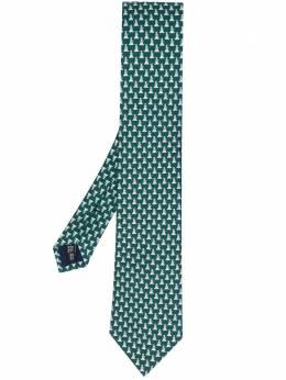 Salvatore Ferragamo галстук с принтом 731215