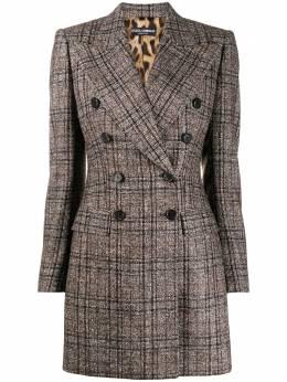 Dolce&Gabbana пиджак в клетку F29HGTFQMH2
