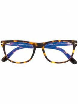 Tom Ford Eyewear очки в квадратной оправе черепаховой расцветки TF5662B