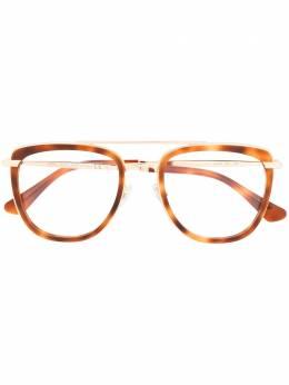 Jimmy Choo Eyewear очки в массивной оправе черепаховой расцветки JC219