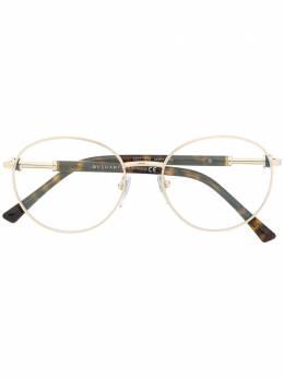 Bvlgari очки в овальной оправе 2207