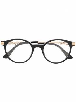 Jimmy Choo Eyewear очки в круглой оправе JC213