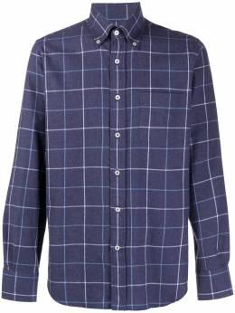 Canali pure cotton check shirt L719GL01987