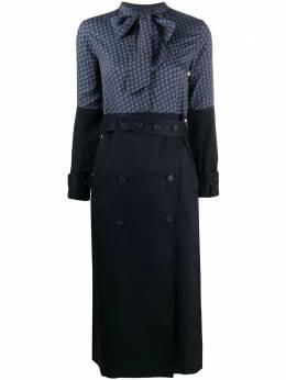 Rokh платье-тренч с шарфом R6CA173VM