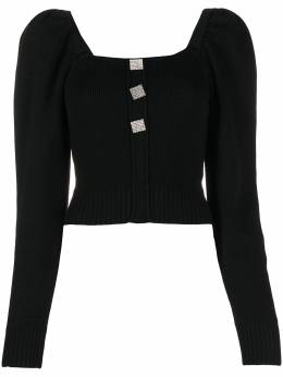 Giuseppe Di Morabito cropped long sleeve jumper 061KN133