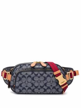 Coach поясная сумка с логотипом 3685