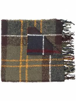 Barbour шарф в клетку BAACC1350LSC0130