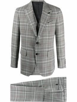 Gabriele Pasini клетчатый костюм с однобортным пиджаком G16544GP16442