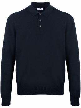 Boglioli long-sleeved cashmere polo shirt 91426BSC809