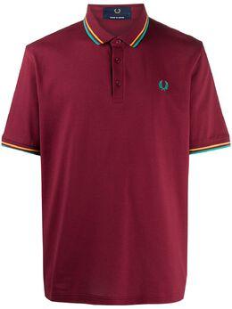 Fred Perry рубашка поло с вышитым логотипом M10235PIQUETB19