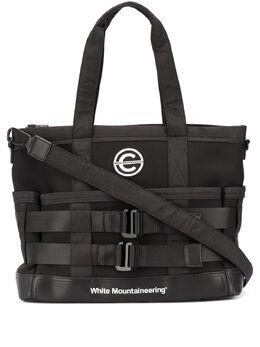 White Mountaineering сумка-тоут с логотипом AC1043VO