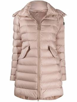 Peuterey hooded A-line coat PED363201180967