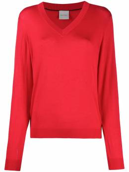 Paul Smith perforated-number sweater W1R847KE10511