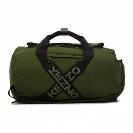 Kenzo Green Sport Big X Duffle Bag FA65SA210F21