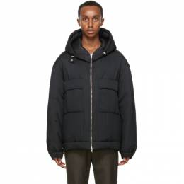3.1 Phillip Lim Black Short Duvet Jacket F203-6928DVTM