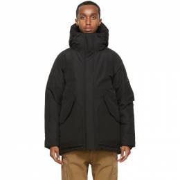 Nanamica Black Down Gore-Tex® Coat SUBF043_