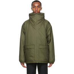 Nanamica Green Insulated Coat SUAF068_