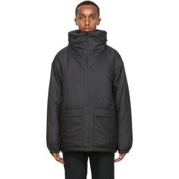 Nanamica Black Insulated Coat SUAF068_
