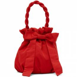 Staud Red Grace Bow Bag 141-9353-POIN
