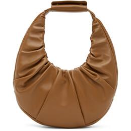 Staud Brown Soft Moon Bag 207-9263-MSHR