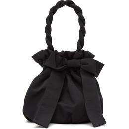 Staud Black Grace Bow Bag 141-9353-BLK