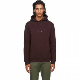 Norse Projects Burgundy Classic Vagn Hoodie N20-0262