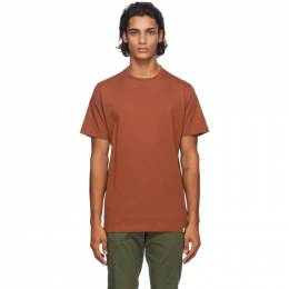 Norse Projects Orange Niels Standard T-Shirt N01-0362