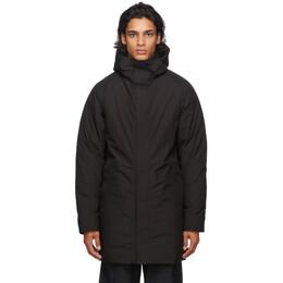 Norse Projects Black Down Gore-Tex® Rokkvi Coat N55-0479
