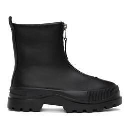 Diesel Black H-Vaiont Chz Boots Y02474PR030