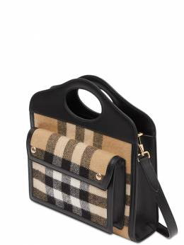 Mini Checked Pocket Bag Burberry 72IRTJ011-QTEzOTU1