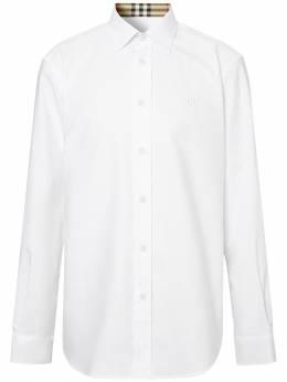 Хлопковая Рубашка Burberry 72ILFC039-QTE0NjQ1