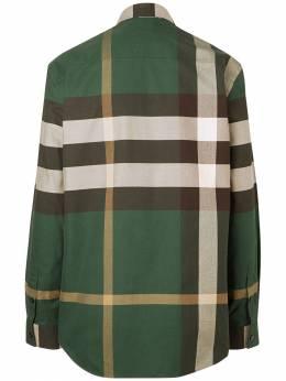 Хлопковая Рубашка Burberry 72ILFC037-QTEwNjc1
