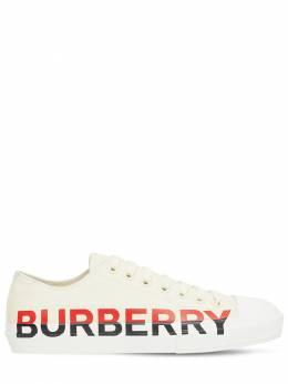 Кроссовки Из Канвас Burberry 72I3EK010-QTMzNTc1