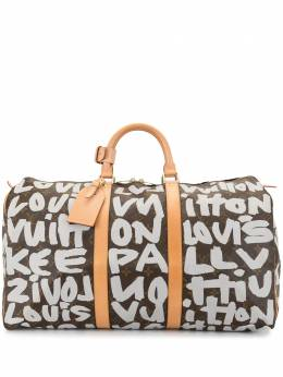 Louis Vuitton дорожная сумка Graffiti Keepall 50 2001-го года M92197