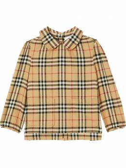 Burberry Kids поплиновая рубашка в клетку House Check 8032738