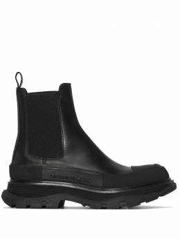 Alexander McQueen Black chunky sole Chelsea boots 635714WHZ61