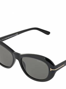Elodie Oval Acetate Sunglasses Tom Ford 72IXHQ002-MDFB0