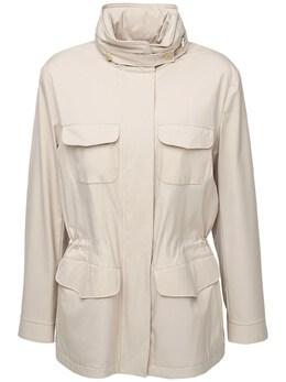 Куртка Из Микрофибры С Подкладкой Из Кашемира Loro Piana 72IKOW028-RDIzNQ2