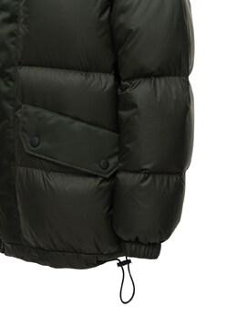 Нейлоновая Куртка На Пуху С Меховой Отделкой Mr & Mrs Italy 72I4S2007-TE9ORCBHUkVFTg2