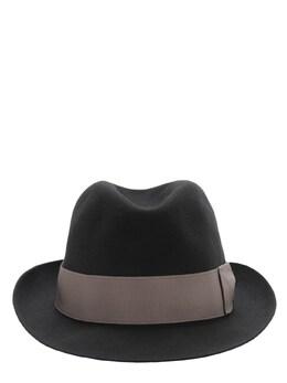 Шляпа Alessandria Из Фетра С Лентой Borsalino 72I4NE009-MTgwNw2