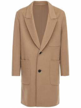 Deconstructed Wool & Cashmere Coat Ami Alexandre Mattiussi 72I3J5021-Mjgw0