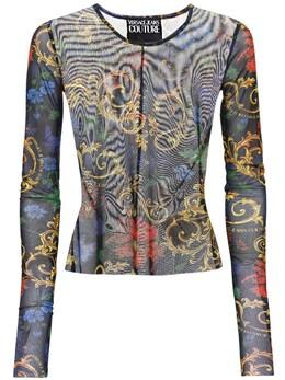 Топ С Принтом Versace Jeans Couture 72I0TY006-OTgz0