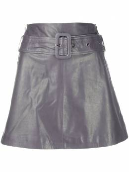 Arma юбка мини А-силуэта с завышенной талией JULIANE