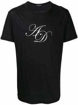Ann Demeulemeester футболка с логотипом 20023979232