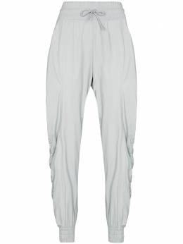 Adidas by Stella McCartney drawstring-waist gathered track pants FU3986
