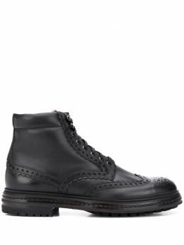 Santoni ботинки с перфорацией MGMI16851JK2ESEBN01