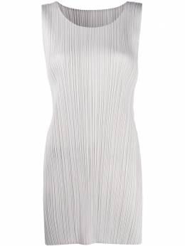 Pleats Please Issey Miyake plissé shift dress PP08JT10710161346