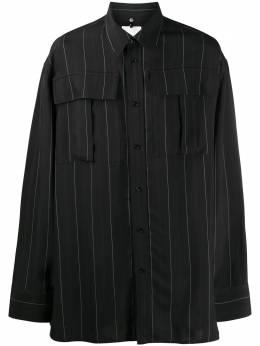Oamc полосатая рубашка на пуговицах OAMR600266380110001